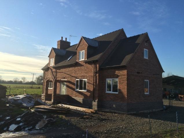 New house in Sandbach