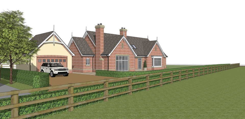 New Bungalow Cranage Cheshire