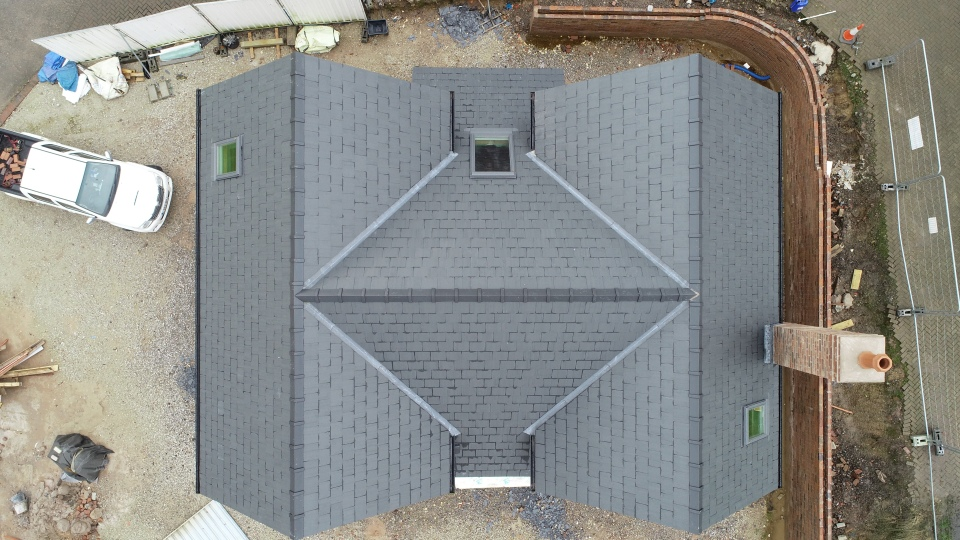 New Dwelling Tabley Roof